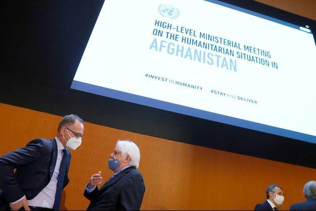 Réunion des Nations unies sur l'Afghanistan à Genève, le 13 septembre 2021.