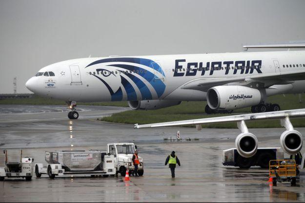 Un avion d'Egyptair (photo d'illustration)