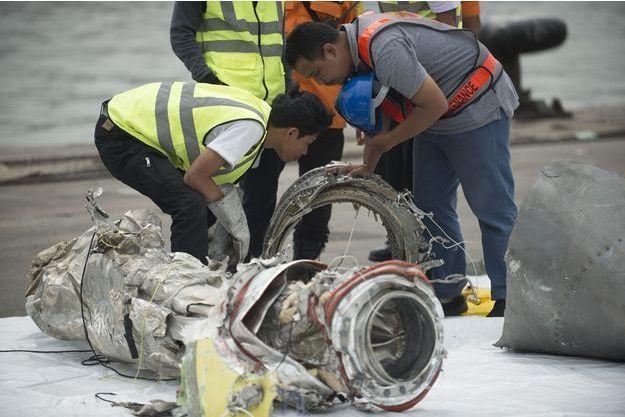 L'appareil de Lion Air s'est abîmé au large de l'Indonésie fin octobre.
