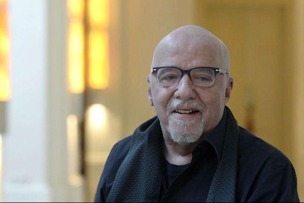 Paulo Coelho ici à Prague, en mars 2016.