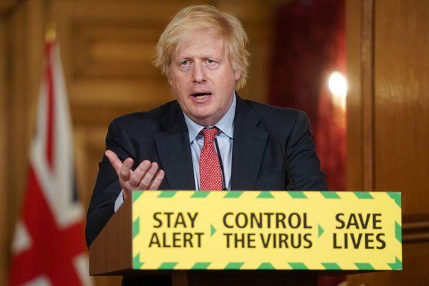 Boris Johnson le 10 juin 2020 à Londres.