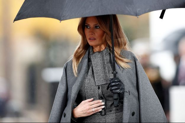 Melania Trump en France pour les commémorations du 11-Novembre.