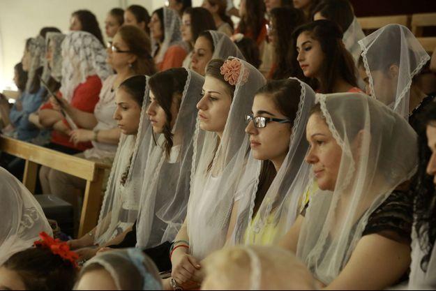 Les femmes chrétiennes ont été la cible privilégiée des islamistes en Syrie (photo d'illustration)