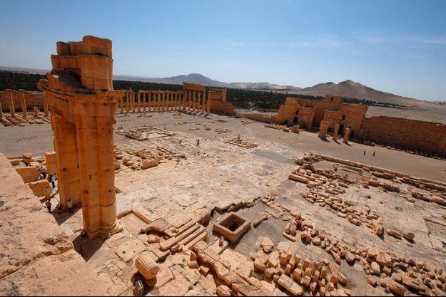 La cité antique de Palmyre, le 21 mai.