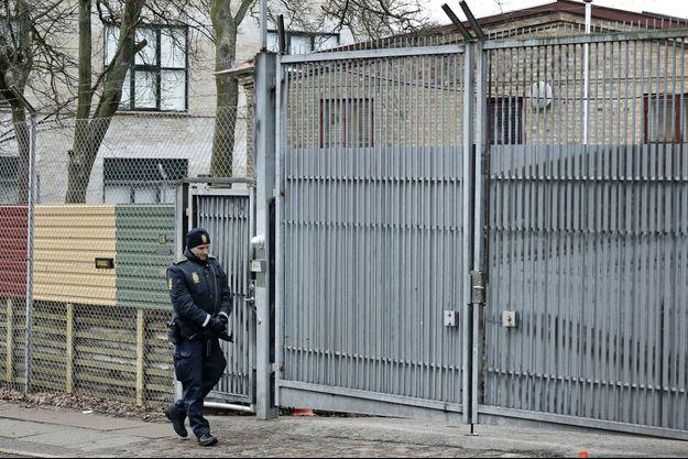 Ecole juive que l'adolescente danoise aurait voulu viser, à Copenhague au Danemark
