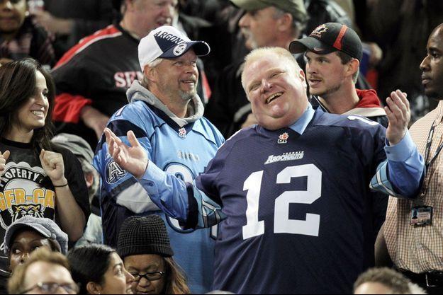 Dimanche soir, Rob Ford assistait à la finale de la ligue canadienne de football à Toronto.