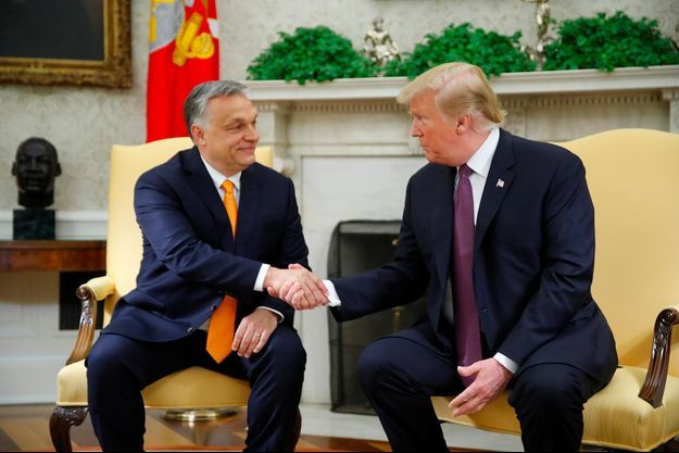 Viktor Orban, Donald Trump