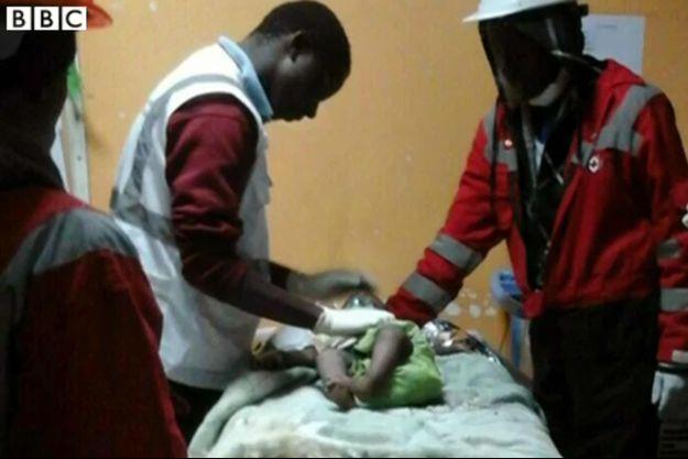 Dealeryn Saisi Wasike a été retrouvée quatre jours après l'effondrement d'un immeuble au Kenya.