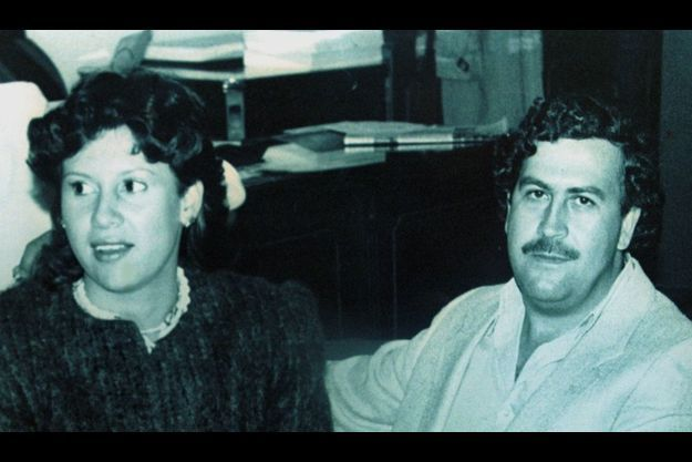 Pablo Escobar, sur une photo d'archive.