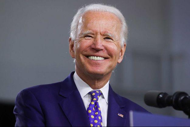 Joe Biden à Wilmington, dans le Delaware, le 28 juillet 2020.