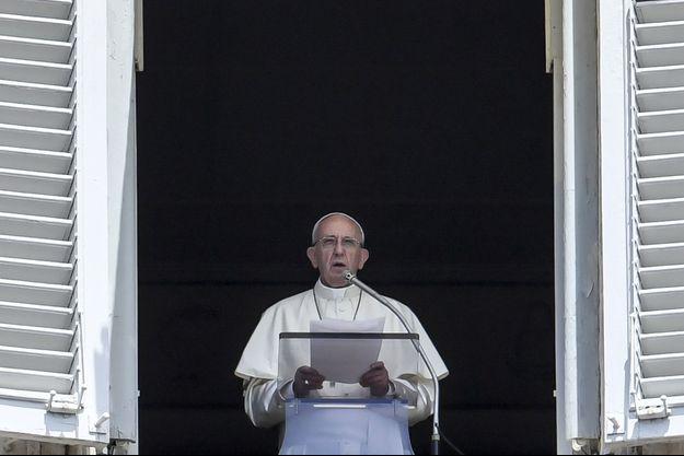 Le pape François le 2 juillet au Vatican.