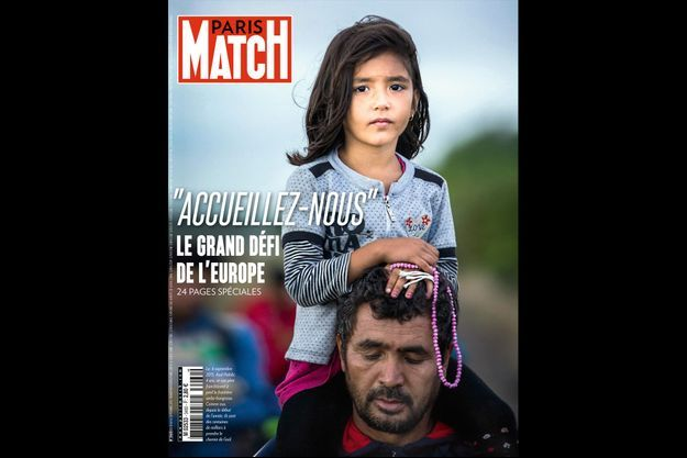 La couverture du numéro 3460 de Paris Match.