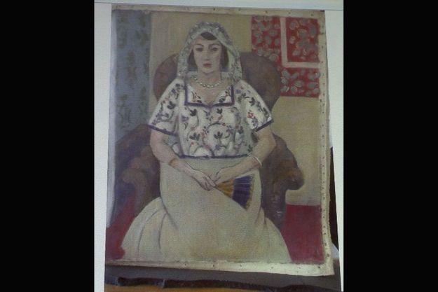 """""""Femme assise"""", par Henri Matisse"""