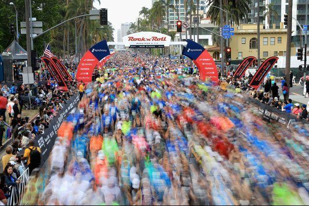 Photo prise lors du marathon de San Diego