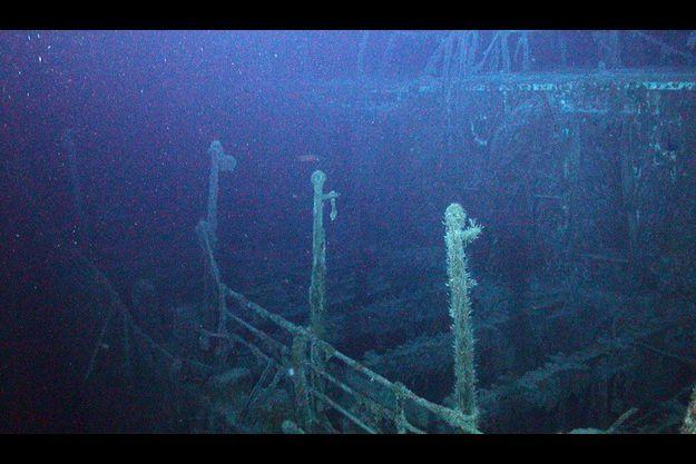 Le SS Mantola gît par 2500 mètres de fond.