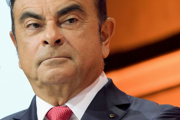 Carlos Ghosn en septembre 2017 à Paris.