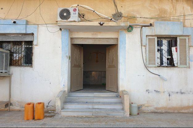 Prison à Tel Abyad à Syrie.