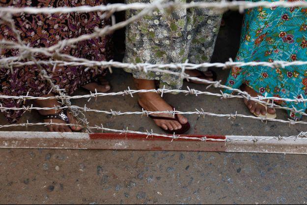 Illustration prison birmane
