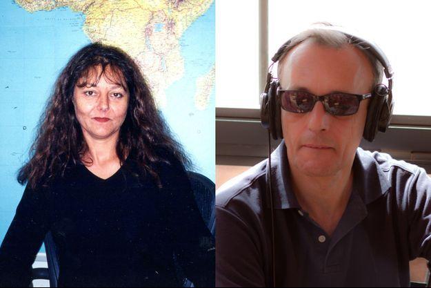 Ghislaine Dupont et Claude Verlon