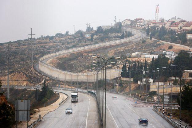 Vue de la colonie Beit Horon