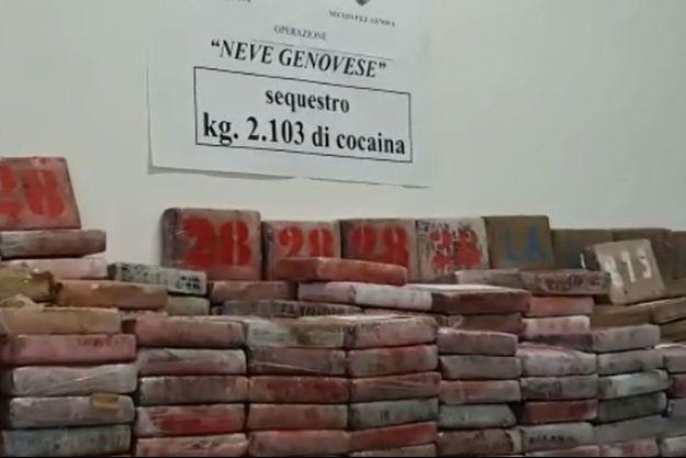 Deux tonnes de cocaïne ont été saisies dans le port de Gênes, en Italie.