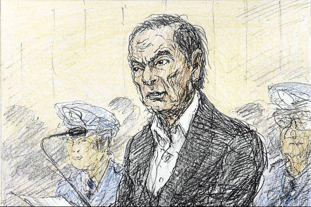 Carlos Ghosn devant le tribunal au Japon le 8 janvier.