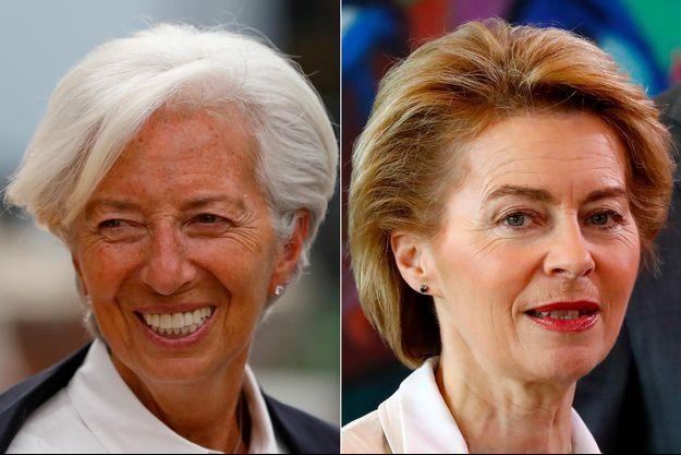 Christine Lagarde, Ursula von der Leyen