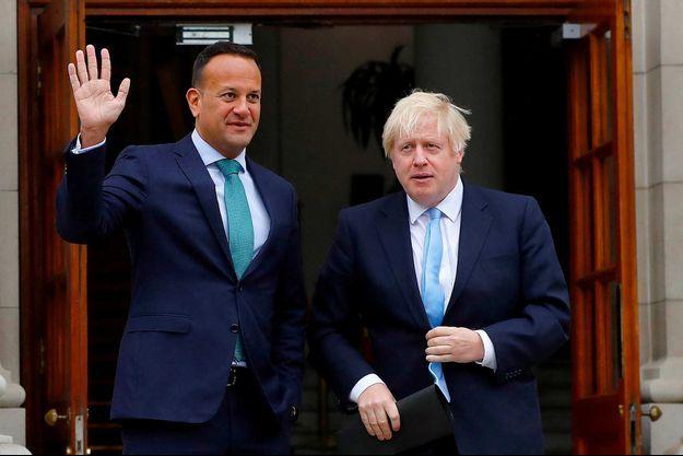 Leo Varadkar, Boris Johnson