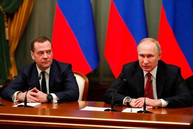 Dmitri Medvedev, Vladimir Poutine