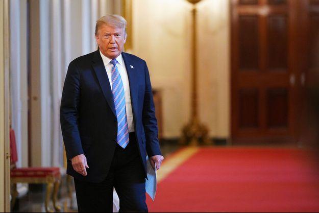 Donald Trump à la Maison-Blanche, vendredi.