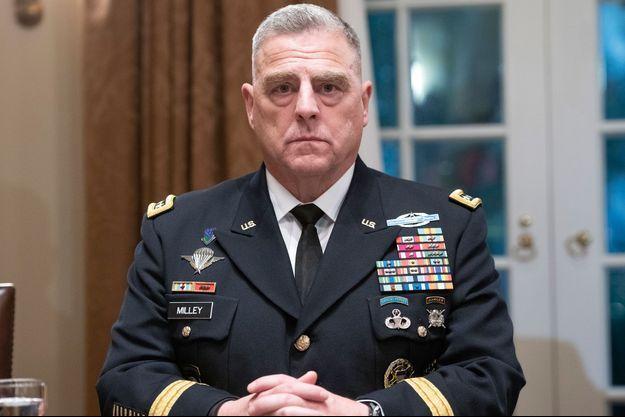 Mark Milley est le nouveau chef d'état major américain