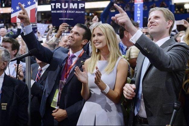 Donald Trump Jr, Ivanka Trump, Eric Trump