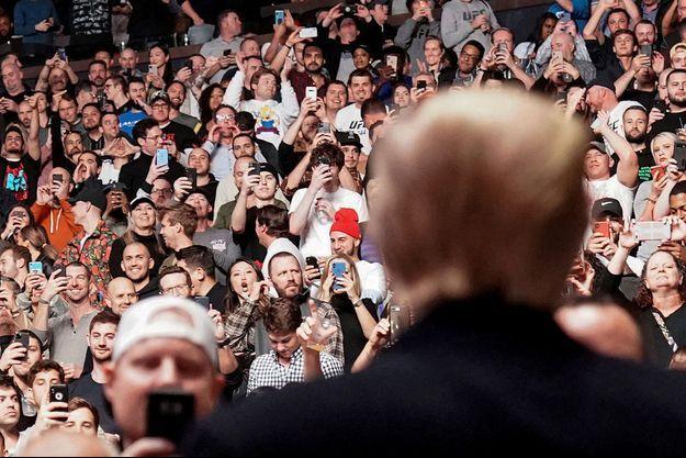 Donald Trump a été conspué par la foule.