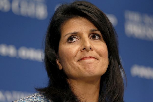 La future ambassadrice américaine aux Nations unies, Nikki Haley.