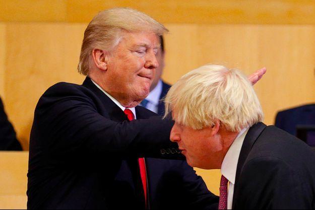 Donald Trump et Boris Johnson.