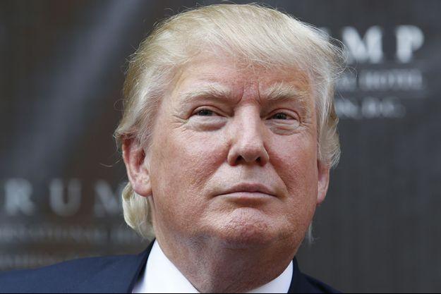 Donald Trump, photographié en juillet 2014.