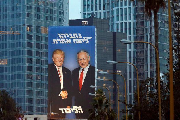 Donald Trump, Benjamin Netanyahou