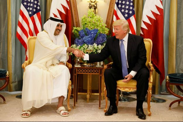 Tamim bin Hamad al-Thani, Donald Trump