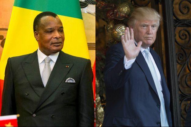 """Le feuilleton de la """"rencontre virtuelle"""" entre Denis Sassou-Nguesso et Donald Trump a fait la risée des réseaux sociaux."""