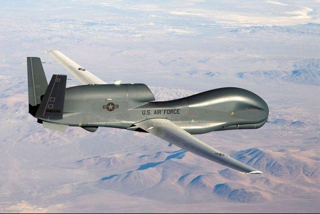 C'est un drone similaire a celui-ci qui a été abattu par l'Iran.