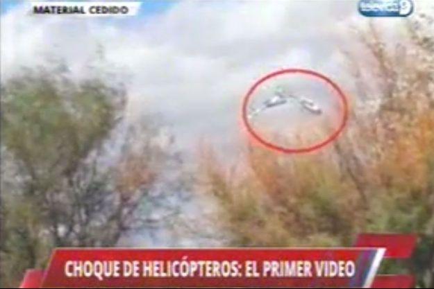 """Capture d'écran d'une vidéo diffusée par """"El Sol""""."""