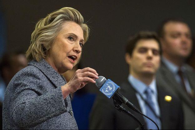 Hillary Clinton à New York