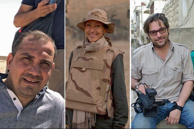 Bakhtiyar Haddad, Véronique Robert et Stephan Villeneuve.