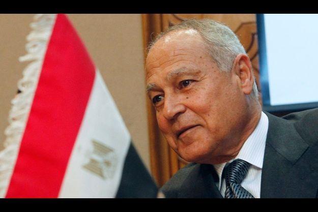 Le ministre égyptien des Affaires étrangères, Ahmed Aboul Gheit
