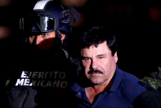 El Chapo à Mexico en 2016.