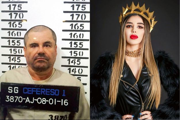 A g. : 8 janvier 2016, troisième – et dernière? – arrestation d'El Chapo. Le chef du cartel de Sinaloa purge désormais une peine de prison à perpétuité aux Etats-Unis. A d.: A l'époque où elle portait les chaînes… au cou. Publié le 2 juillet 2020 pour son anniversaire, cet autoportrait a été plébiscité par près de 100000 fans sur Instagram