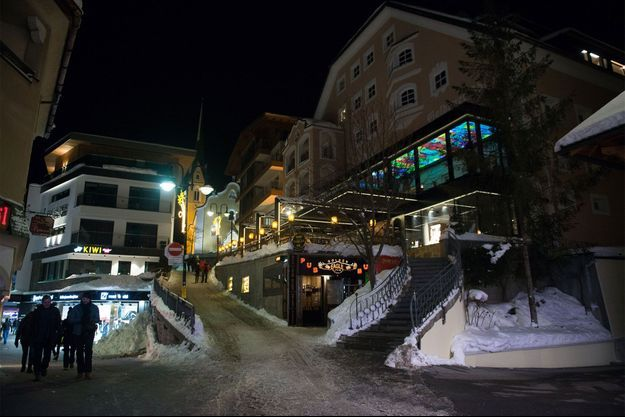 La petite station d'Ischgl, dans le Tyrol autrichien.