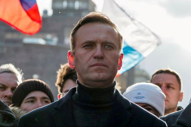 Alexeï Navalny photographié en février 2020.
