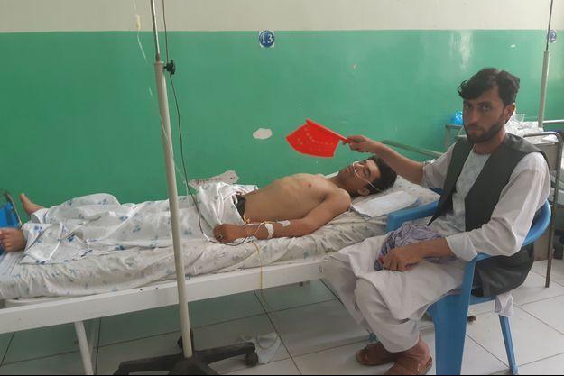 Un des employés de l'organisation spécialisée dans le déminage blessé dans l'attaque.