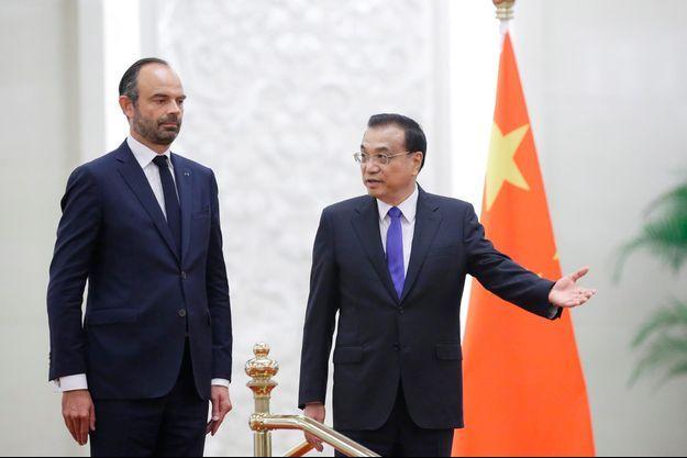 Edouard Philippe, Li Keqiang